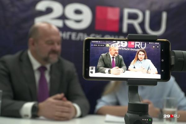 Игорь Орлов сказал, что устал от темы мусора и хотел бы, чтобы хороших новостей было больше
