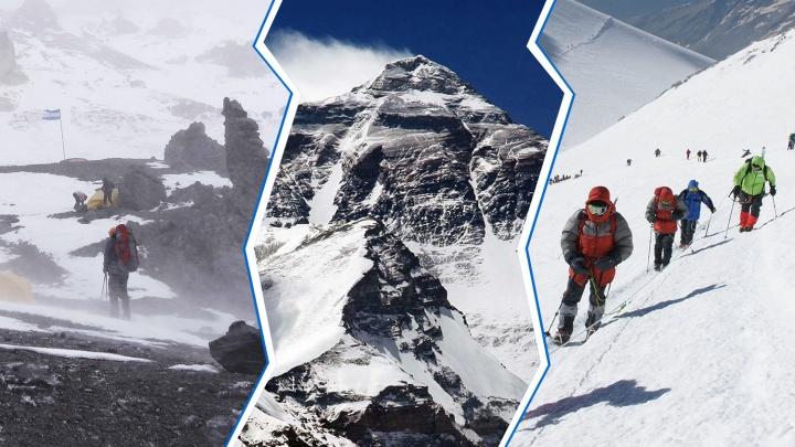«Я вообще не альпинист, а романтик»: пять историй челябинцев, покоривших самые высокие горы планеты