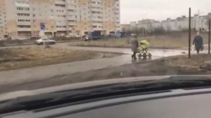 «Тут мамы с колясками ходят»: тест-драйв объездной дороги вокруг Тутаевского шоссе от ярославцев