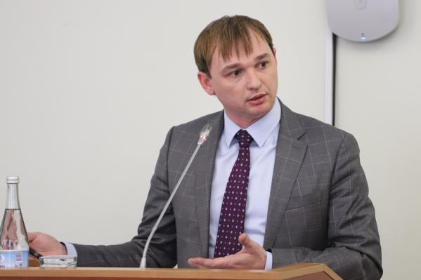 Александр Доманов занял должность в июне 2018 года
