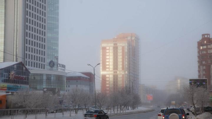 В Тюменской области с 3 по 8 февраля будет аномально холодная погода
