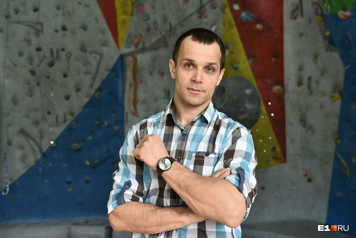 Директор спортивной школы Сергей Синицын