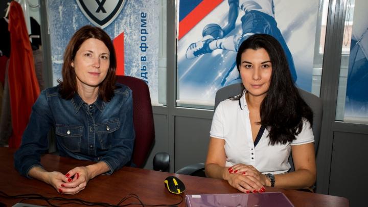 «Иногда охота её придушить»: две мамы юных хоккеистов запустили бизнес, придуманный в раздевалке
