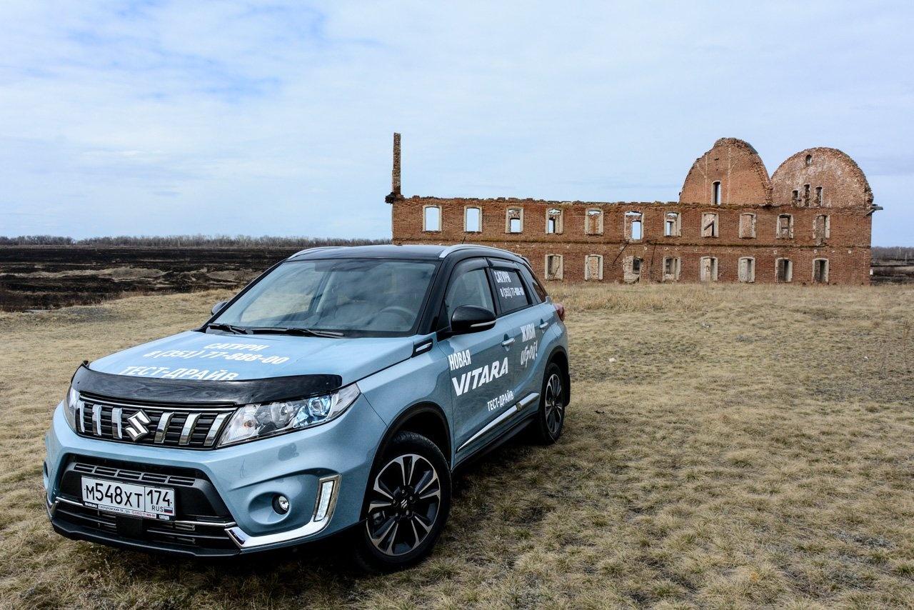 Suzuki Vitara — пример импортируемого автомобиля с ценой чуть более миллиона рублей