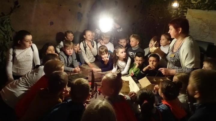 Горели даже камни: волгоградским детям в бункере расскажут о жизни ровесников в Сталинградскую битву