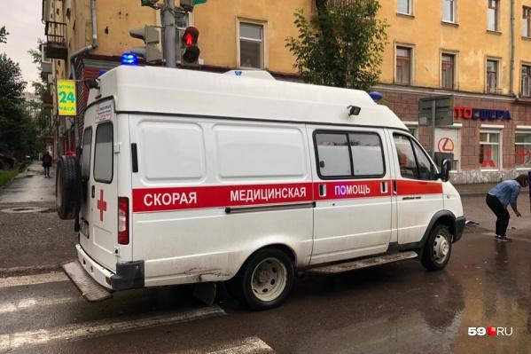 Машины скорой помощи в Чайковском водители чинят самостоятельно