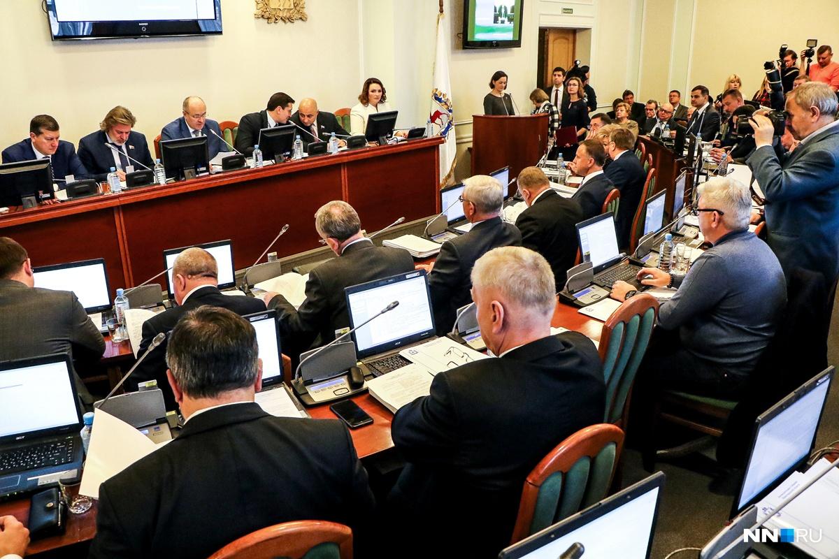 Депутатский корпус Нижегородской области желает добавить насвое содержание 7 млн руб.