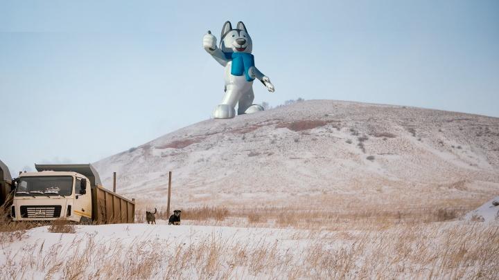 «На Красноярске поставили крест»: показываем, как иначе можно было бы использовать гору в Дрокино