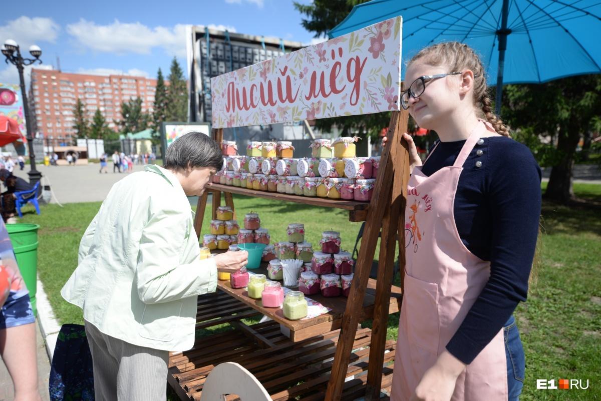 На фестивале окрошки нашлось место и другим блюдам и продуктам