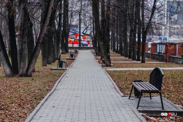 Весь снег, который выпал в Перми, растает