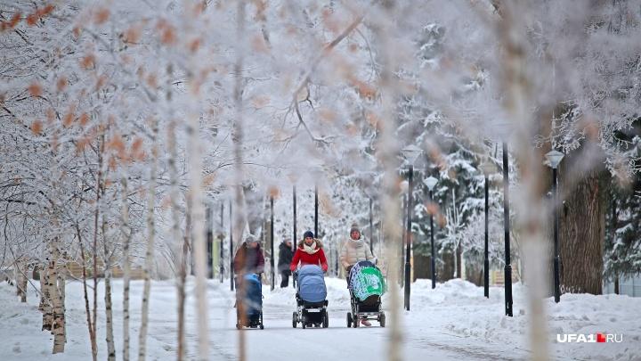 Мороз или потепление: синоптики озвучили прогноз погоды в Башкирии на неделю