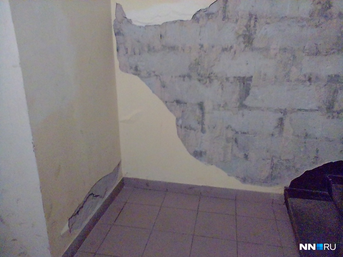 Проблемы в новом доме начались на первом году жизни