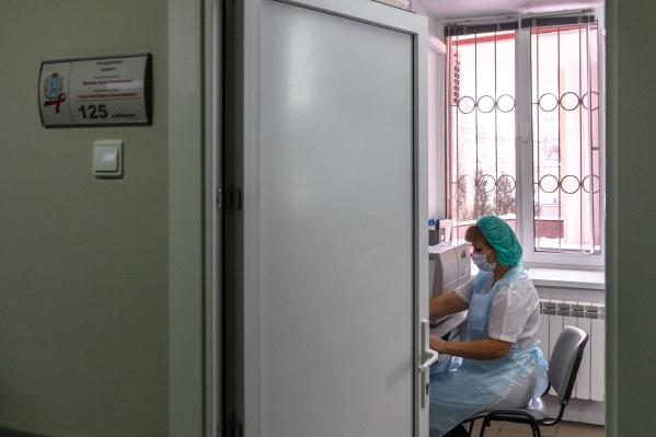 В больнице делают экспресс-тестирование на ВИЧ