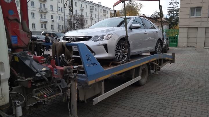 Сбербанк отобрал машину у бывшего владельца торговой марки «Курико»