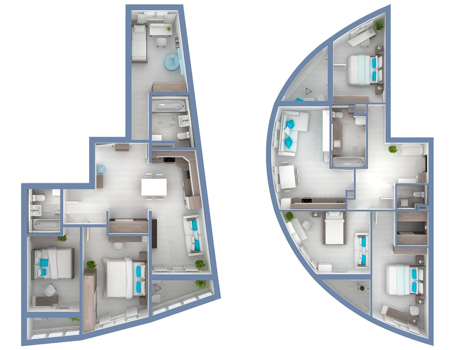 Примеры планировок квартир