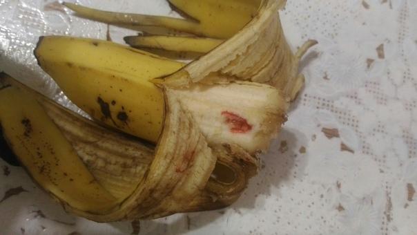 Жителей Башкирии напугали «кровавые» бананы