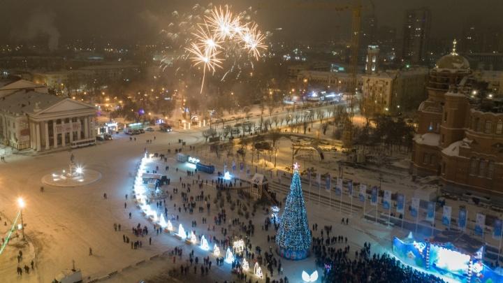По большим праздникам: мэрия Волгограда объяснила закупку фейерверков