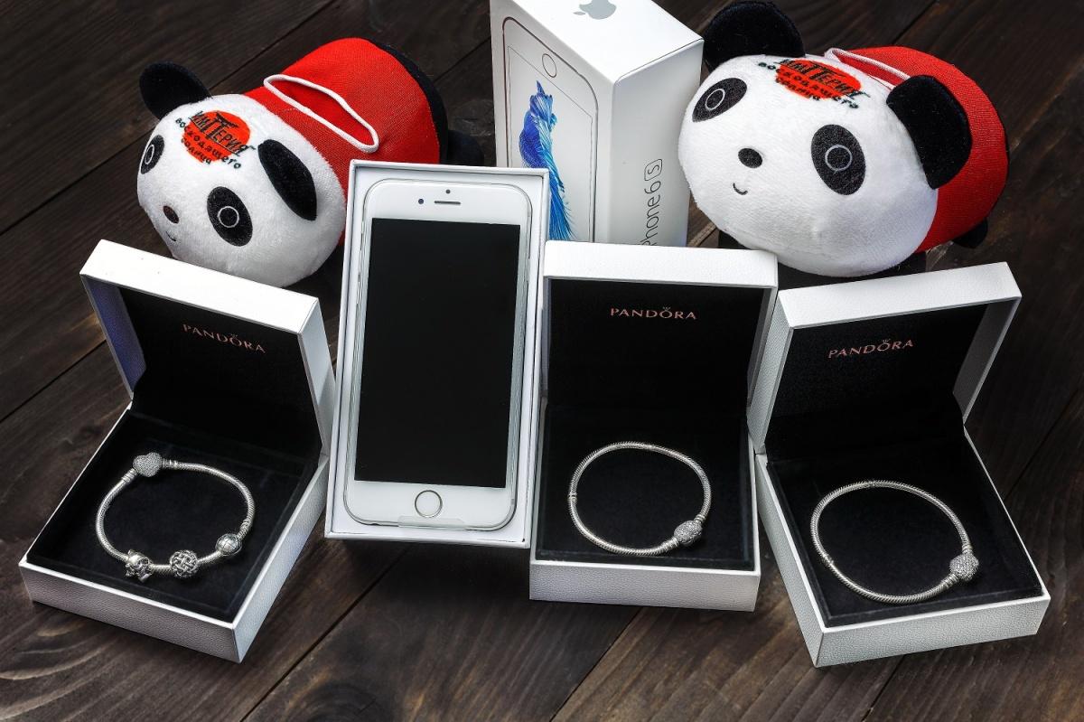 Служба доставки разыгрывает сертификат на годовой запас суши, новый iPhone и браслеты Pandora