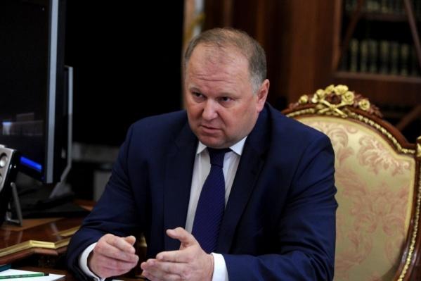 Николай Цуканов стал полпредом президента в УрФО в 2018 году