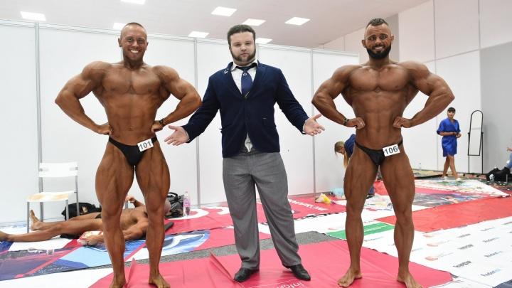 Лучшие бодибилдеры страны в Екатеринбурге борются за звание абсолютного победителя Кубка УрФО