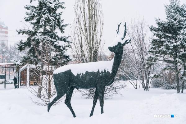 Второго января омичей ждёт потепление до + 1 градуса
