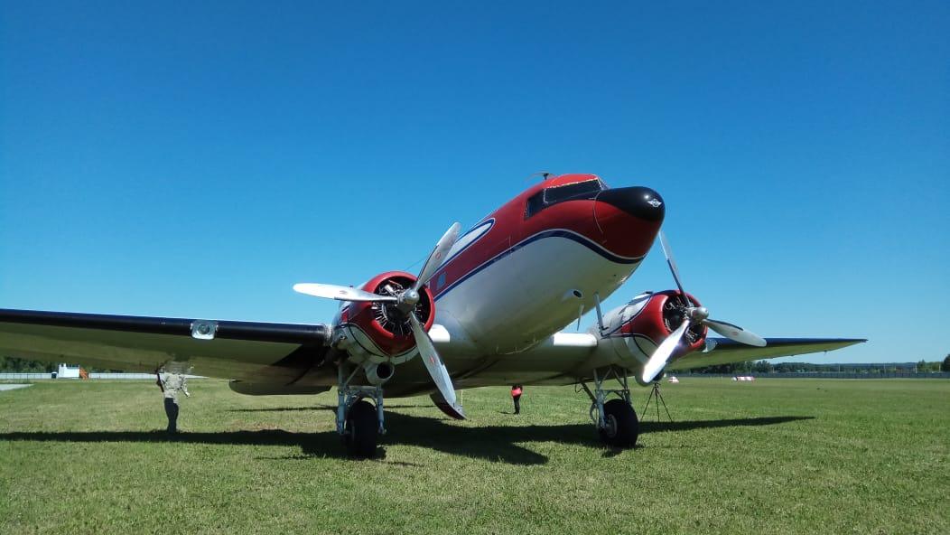 На авиашоу в Мочище DC-3 выступит уже во второй раз