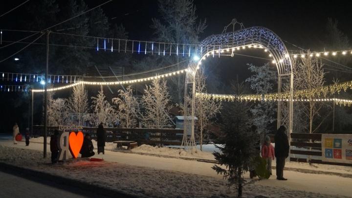 Омичам рассказали, как они смогут развлечься в парках на новогодних каникулах