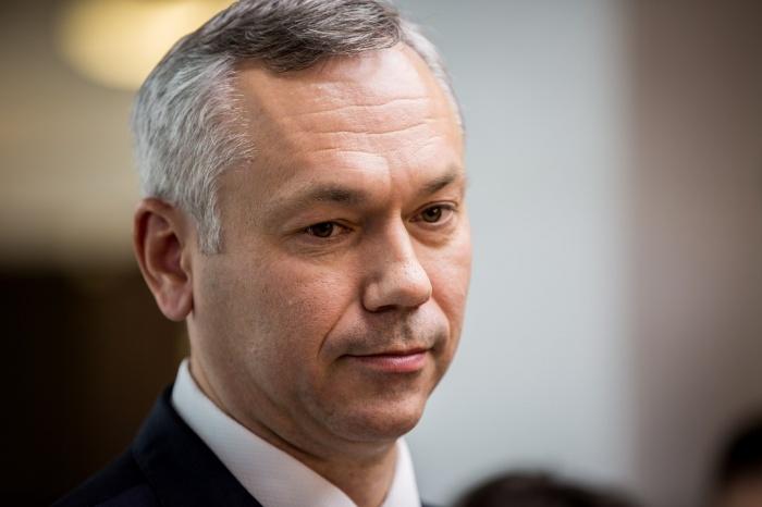 Андрей Травников занял пост врио губернатора области 6 октября 2017 года