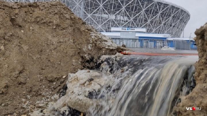 На «Волгоград Арене» за 7,5 млн рублей ищут дефекты, спустя год после открытия