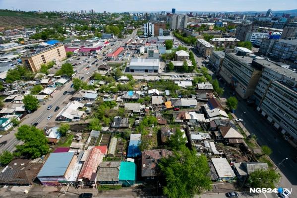 На этой территории компания разрабатывает проект реконструкции целого квартала, который получил название «Квартал цветов»