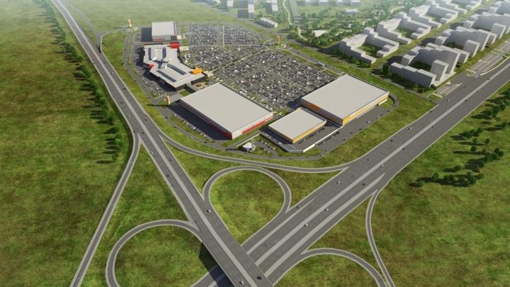 Минстрой разрешил построить на ЕКАД огромный магазин одежды