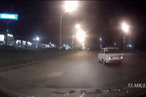 Подросток на «шестёрке» несколько минут удирал от двух патрулей ДПС
