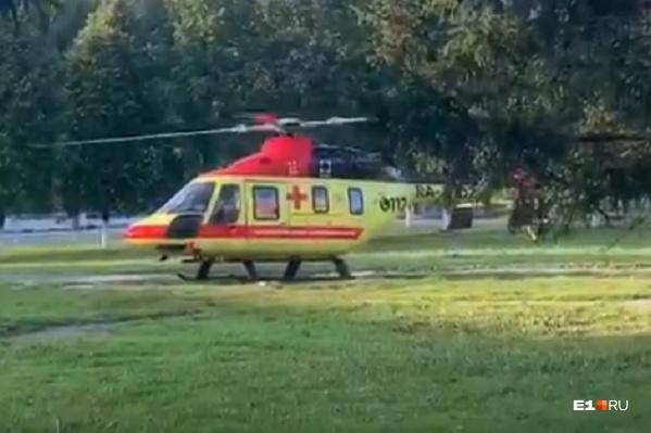 Мальчика доставили в девятую больницу