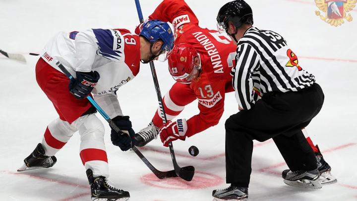 Россия и Чехия разыграли бронзу чемпионата мира по хоккею в напряженном матче