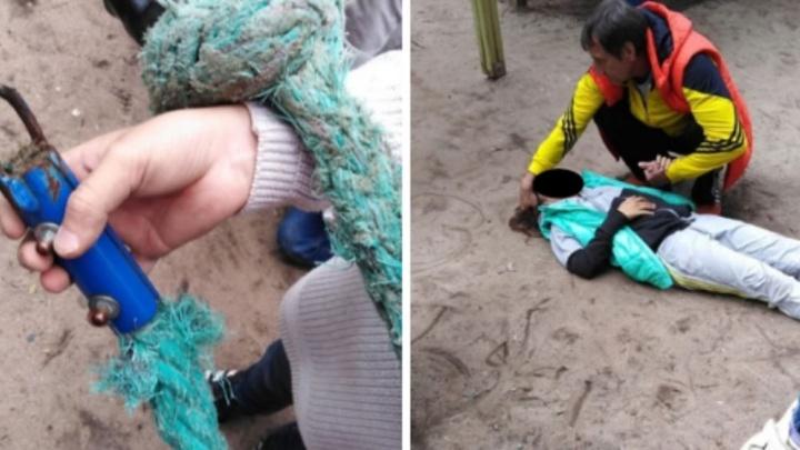 «Оборвался канат, боль страшная»: в Ярославле на детской площадке пострадала девочка
