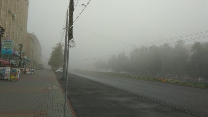 Самолёт, который не смог сесть в Челябинске из-за тумана, застрял в Кольцово