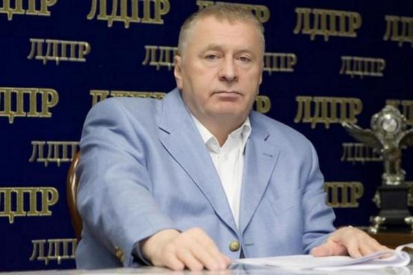 Фракция ЛДПР в Красноярске заявила о краже ростовой куклы Владимира Жириновского