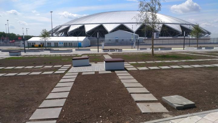«Стадион сложный, но один из красивейших»: министр спорта РФ оценил «Самара Арену»