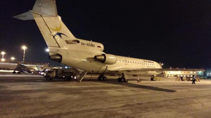 Подарок к Новому году: в Кольцово приземлился первый рейс из Челябинска в Екатеринбург
