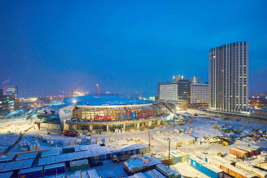 Стало известно название свежей хоккейной арены вКрасноярске