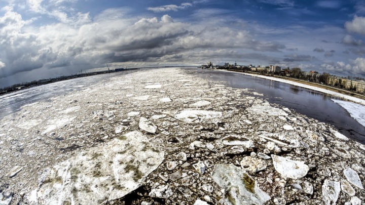 10 мест в Архангельске, где можно сделать классные снимки ледохода: советы фотографа 29.RU