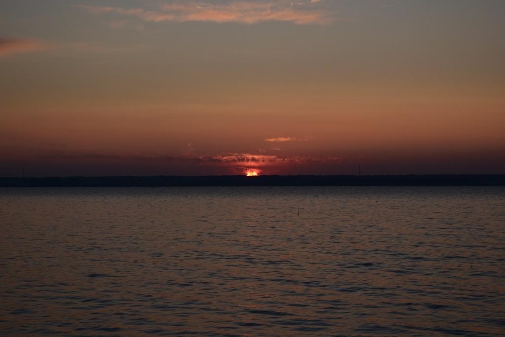 Закат на Караканском заливе