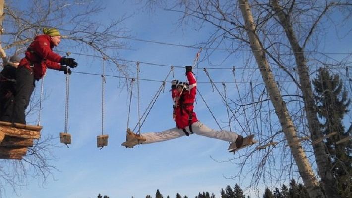 Инструктора веревочного парка на пермской базе «Динамо» оштрафовали за травму ребенка