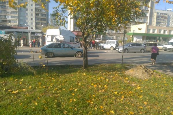 Ребёнка сбили прямо на пешеходном переходе