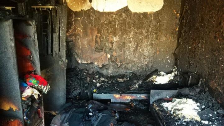 В Башкирии загорелась квартира: эвакуировали 10 человек