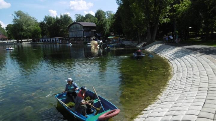 В Уфе расчистили озеро Солдатское