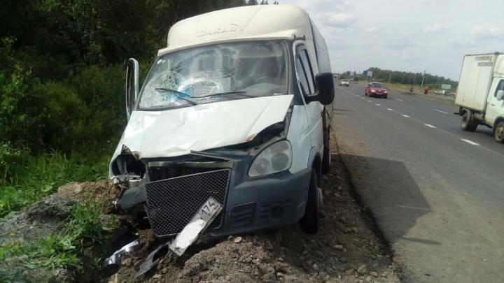 Водитель «Газели», сбивший двух челябинок на Новоградском тракте, был пьян