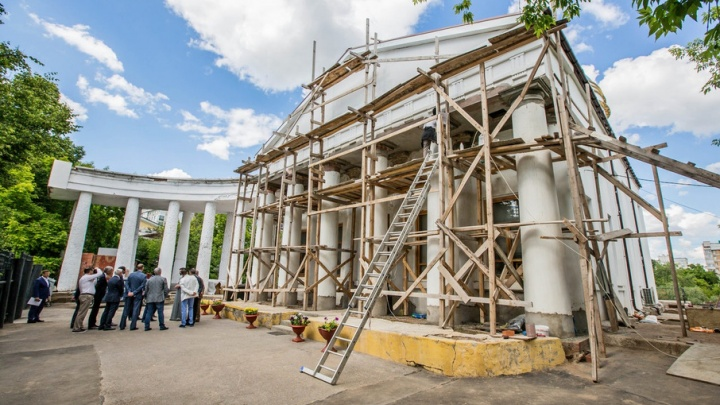 Уфимские власти помогут с реконструкцией Спасского храма