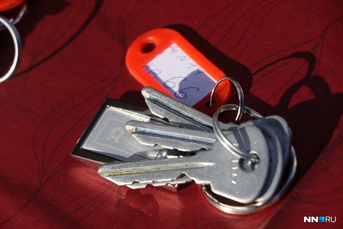Прежде чем платить, подпишите договор и получите ключи