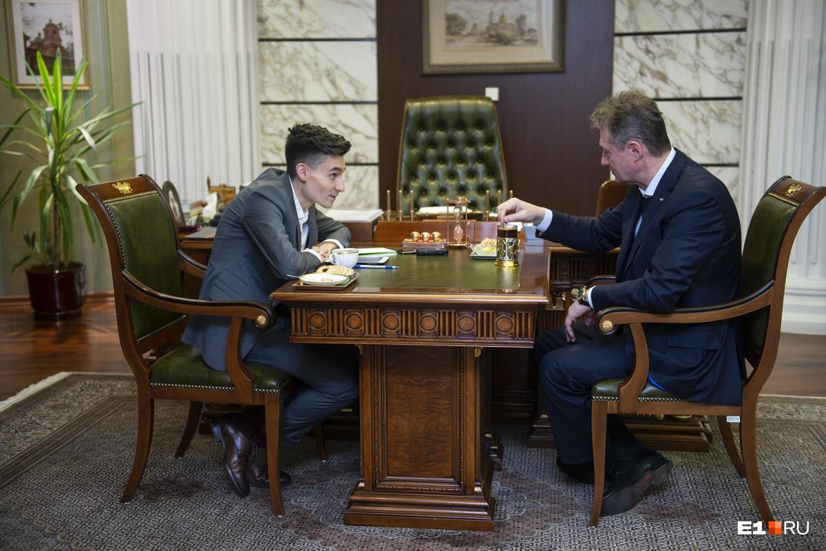 Глава УГМК отвечает на вопросыРината Низамова, директора Сети городских порталов Hearst Shkulev Digital, в которую входит E1.RU
